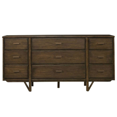 Stanley Santa Clara Dresser in Burnished Walnut Finish