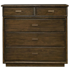 Stanley Santa Clara Media Chest in Burnished Walnut Finish