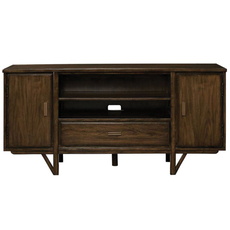 Stanley Santa Clara Media Console in Burnished Walnut Finish