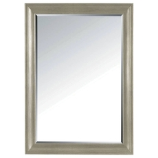 Stanley Transitional Landscape Mirror in Estonian Grey Finish