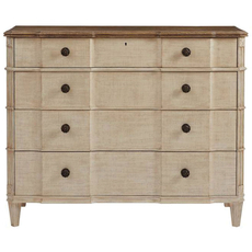 Stanley Villa Couture Claudia Single Dresser in Glaze Finish