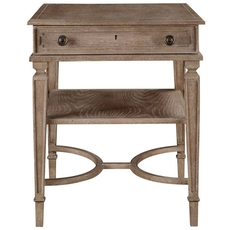 Stanley Wethersfield Estate End Table in Brimfield Oak Finish