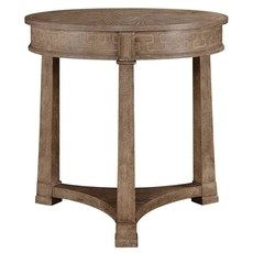 Stanley Wethersfield Estate Lamp Table in Brimfield Oak Finish