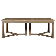 Stanley Wethersfield Estate Rectangular Dining Table in Brimfield Oak Finish