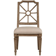 Stanley Wethersfield Estate Side Chair Set of 2 in Brimfield Oak Finish