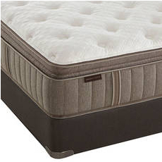"Stearns & Foster Estate Bella Claire Luxury Plush Euro Pillow Top Twin XL Mattress Set OVMB101751 - Clearance Model ""As Is"""