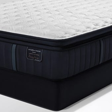 Queen Stearns and Foster Estate Hurston Luxury Firm Euro Pillow Top 14.5 Inch Mattress + FREE $200 Visa Gift Card