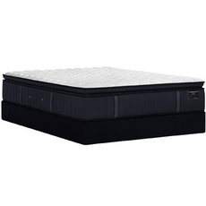Split Cal King Stearns and Foster Estate Hurston Luxury Firm Euro Pillow Top 14.5 Inch Mattress + FREE $150 Visa Gift Card
