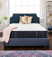 Queen Stearns and Foster Estate Hurston Luxury Plush 14 Inch Mattress + FREE $200 Visa Gift Card