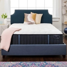 Queen Stearns and Foster Estate Hurston Luxury Plush 14 Inch Mattress Only SDMB092034 - Scratch and Dent Model ''As-Is''