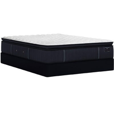 Full Stearns and Foster Estate Hurston Luxury Plush Euro Pillow Top 14.5 Inch Mattress + FREE $200 Visa Gift Card
