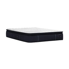 Split Cal King Stearns and Foster Estate Hurston Luxury Plush Euro Pillow Top 14.5 Inch Mattress + FREE $200 Visa Gift Card
