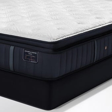 Split Cal King Stearns and Foster Estate Rockwell Luxury Plush Euro Pillow Top 15 Inch Mattress + FREE $200 Visa Gift Card