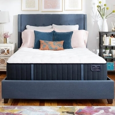 Queen Stearns and Foster Estate Rockwell Luxury Ultra Firm 13.5 Inch Mattress Only SDMB022108 - Scratch and Dent Model ''As-Is''