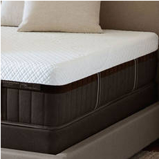 "Stearns & Foster Lux Estate Hybrid Kenna Rose Luxury Cushion Firm Queen Mattress Only OVML031880 - Clearance Model ""As Is"""