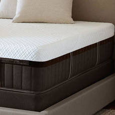 Queen Stearns & Foster Lux Estate Hybrid Mary Leigh Luxury Plush 15 Inch Mattress SDMB081974 - Scratch and Dent Model ''As-Is''