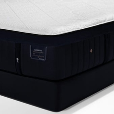 Queen Stearns and Foster Lux Estate Hybrid Pollock Luxury Cushion Firm 15 Inch Mattress + FREE $200 Visa Gift Card