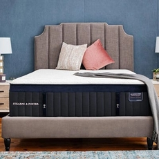 Queen Stearns and Foster Lux Estate Hybrid Pollock Luxury Ultra Plush 16 Inch Mattress + FREE $100 Visa Gift Card