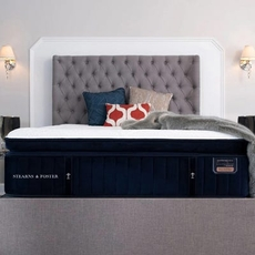Split Cal King Stearns and Foster Reserve Hepburn Luxury Plush Euro Pillow Top 16 Inch Mattress + FREE $200 Visa Gift Card
