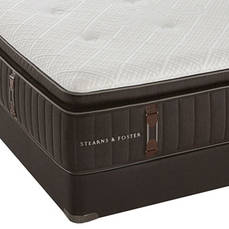 King Stearns & Foster Reserve No. 2 Luxury Plush Euro Pillow Top Mattress SDMB021912- Scratch and Dent Model ''As-Is''