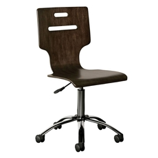 Stone & Leigh Chelsea Square Desk Chair in Raisin