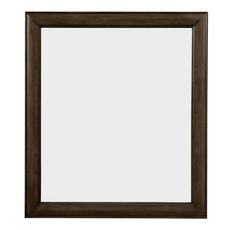 Stone & Leigh Chelsea Square Mirror in Raisin