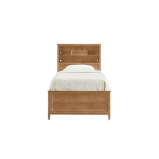 Stone & Leigh Chelsea Square Twin Storage Bed in French Toast
