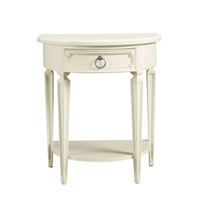 Stone & Leigh Clementine Court Bedside Table in Frosting