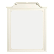 Stone & Leigh Clementine Court Mirror in Frosting