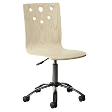 Stone & Leigh Driftwood Park Desk Chair in Vanilla Oak