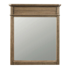 Stone & Leigh Driftwood Park Mirror in Sunflower Seed