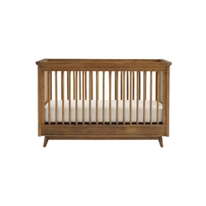 Stone & Leigh Driftwood Park Stationary Crib in Sunflower Seed