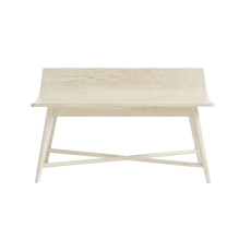 Stone & Leigh Driftwood Park Storage Bed End Bench in Vanilla Oak