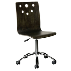 Stone & Leigh Smiling Hill Desk Chair in Licorice