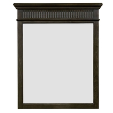 Stone & Leigh Smiling Hill Mirror in Licorice