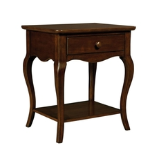 Stone & Leigh Teaberry Lane Bedside Table in Midnight Cherry