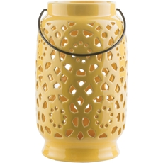 Surya Avery 11 Inch Lantern in Gold