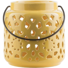 Surya Avery 6.5 Inch Lantern in Gold