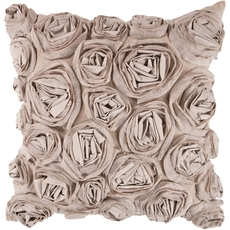 Surya Bed of Flowers Accent Pillow