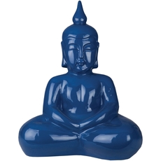 Surya Buddha 17 Inch Sculpture in Colbalt