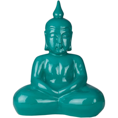 Surya Buddha 17 Inch Sculpture in Teal