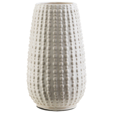 Surya Clearwater 11.5 Inch Table Vase in Ivory