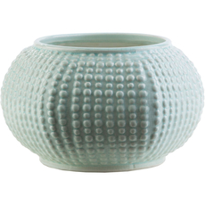 Surya Clearwater 6 Inch Table Vase in Gray