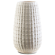 Surya Clearwater 9.5 Inch Table Vase in Ivory