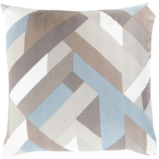 Surya Divine Diagrammatic in Light Blue Accent Pillow