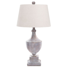 Surya Eleanor Table Lamp in Gray Washed