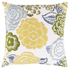 Surya Flowers of the Valley Accent Pillow