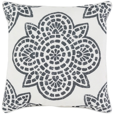 Surya Hemma in Black Accent Pillow