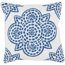 Surya Hemma in Cobalt Accent Pillow