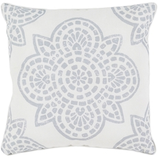 Surya Hemma in Light Gray Accent Pillow